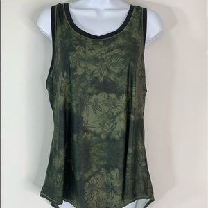 Calia by Carrie Underwood Green Tank Top